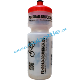 EU Bottle BigMouth 750ml clear - Fahrrad Bruckner