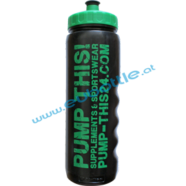 EU Bottle MAX-Sport 1000ml black - Pump This