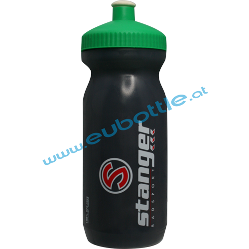 EU Bottle BigMouth 600ml grey - Radsport Stanger