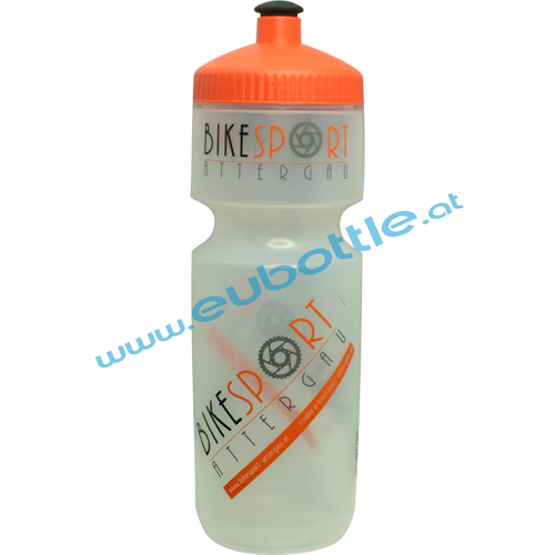 EU Bottle BigMouth 750ml clear - Bikesport Attergau