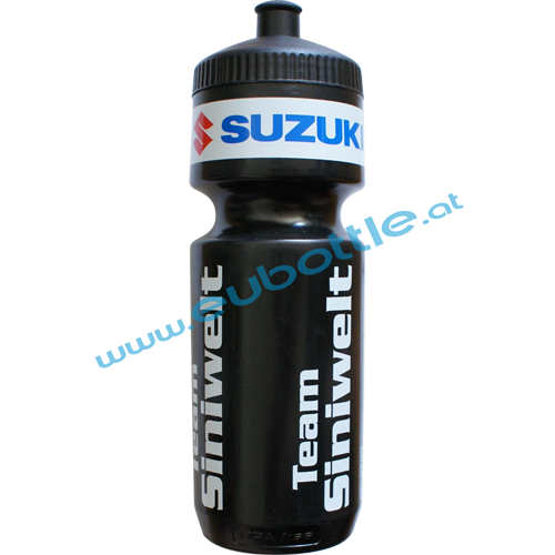 EU Bottle BigMouth 750ml black - Team Siniwelt