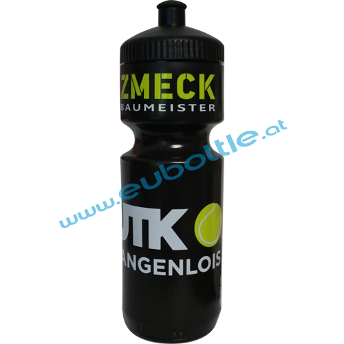 EU Bottle BigMouth 750ml black - UTK Langenlois