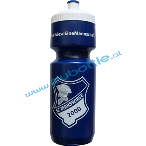 EU Bottle BigMouth 750ml blue - SZ Marswiese