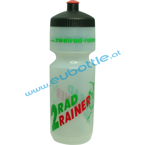 EU Bottle BigMouth 750ml clear - 2 Rad Rainer