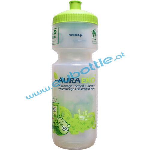 EU Bottle BigMouth 750ml clear - Auraeko