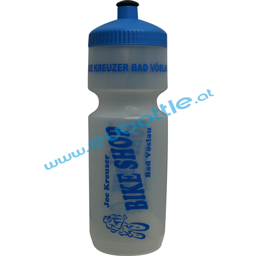 EU Bottle BigMouth 750ml clear - Bikeshop Kreuzer