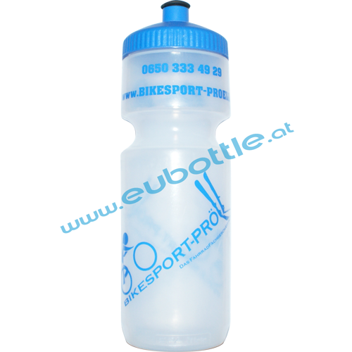 EU Bottle BigMouth 750ml clear - Bikesport Pröll