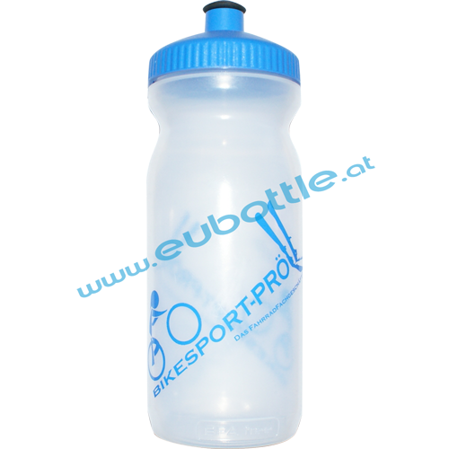 EU Bottle BigMouth 600ml clear - Bikesport Pröll