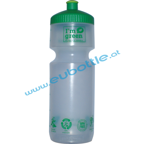 EU Bottle BigMouth 750ml clear - BioBottle