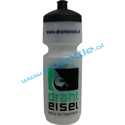 EU Bottle BigMouth 750ml clear - Drahteisel