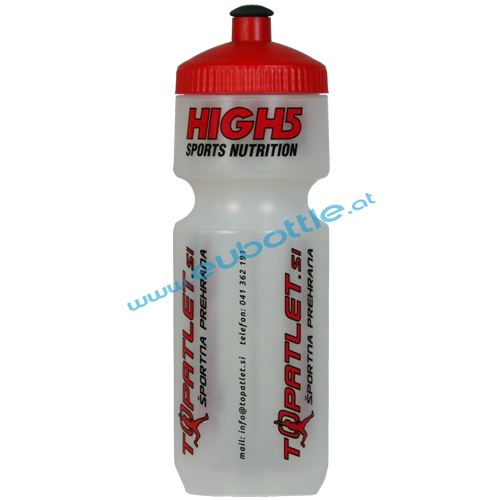 EU Bottle BigMouth 750ml clear - HIGH5 Sports Nutrition