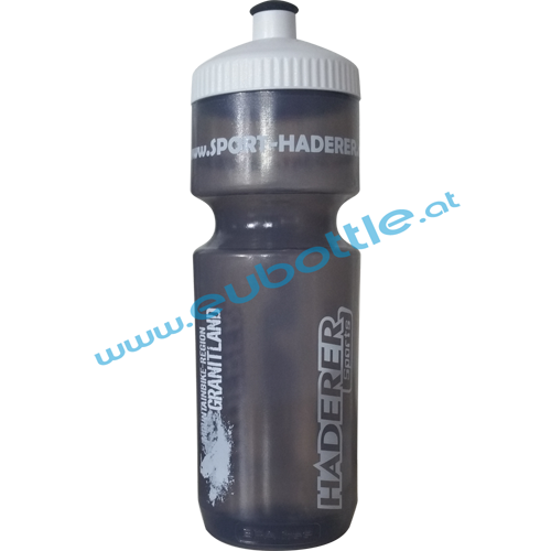 EU Bottle BigMouth 750ml clear-grey - Sport Haderer