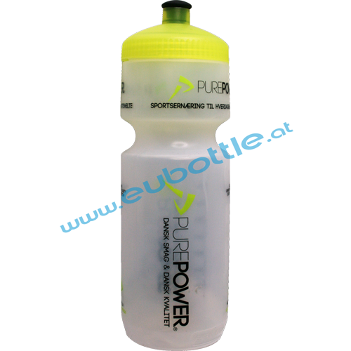 EU Bottle BigMouth 750ml clear - Purepower