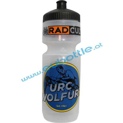 EU Bottle BigMouth 750ml clear - Radcult Wolfurt