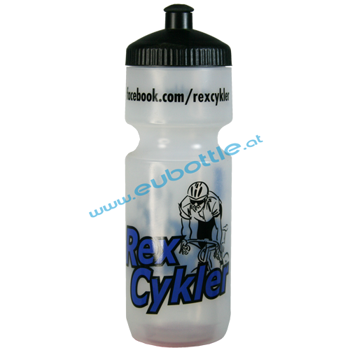 EU Bottle BigMouth 750ml clear - Rex Cykler