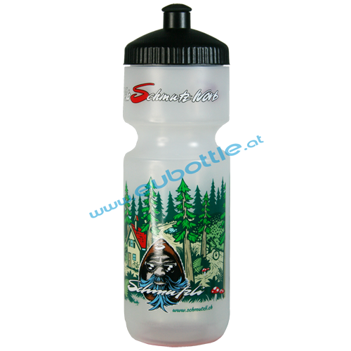 EU Bottle BigMouth 750ml clear - Schmutzli