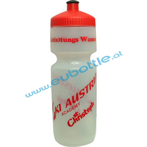 EU Bottle BigMouth 750ml clear - Ski Austria Academy