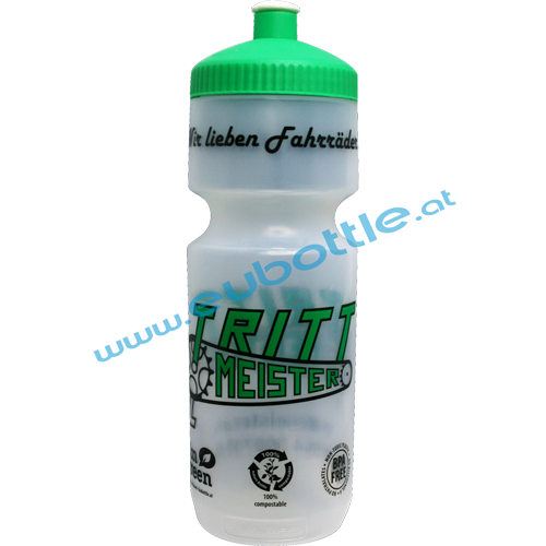 EU Bottle BigMouth 750ml clear - Trittmeister