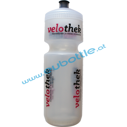 EU Bottle BigMouth 750ml clear - Velothek