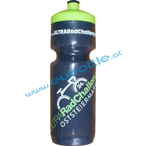EU Bottle BigMouth 1000ml clear-grey - Ultra Rad Challenge