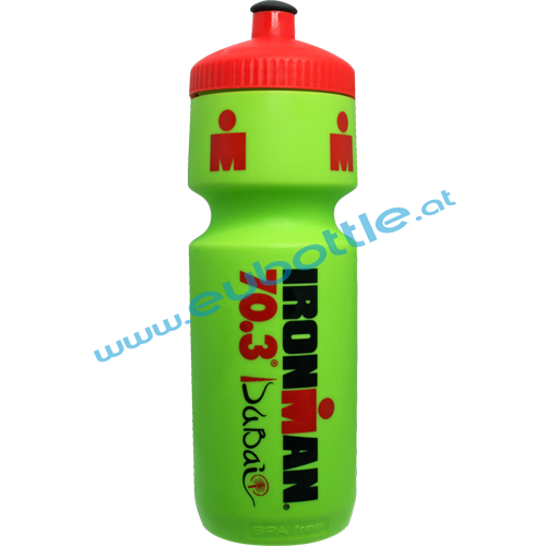 EU Bottle BigMouth 750ml green - Ironman Dubai
