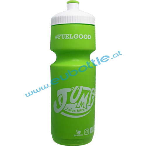 EU Bottle BigMouth 750ml green - Jump Juice Bars