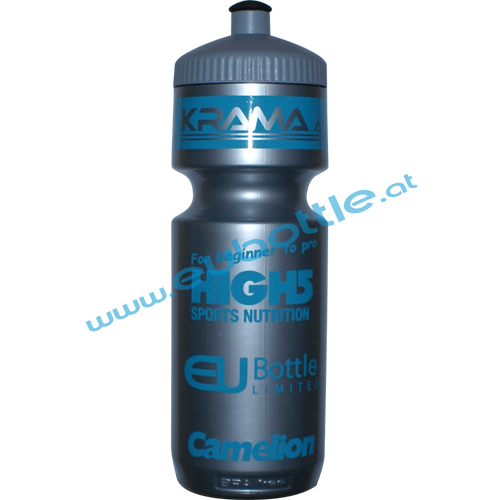 EU Bottle BigMouth 750ml silver - Krama GmbH