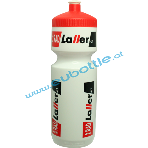 EU Bottle BigMouth 750ml white - 2 Rad Laller