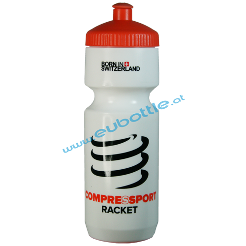 EU Bottle BigMouth 750ml white - Compressport