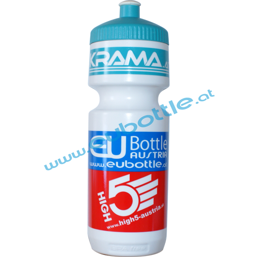 EU Bottle BigMouth 750ml white - Krama GmbH