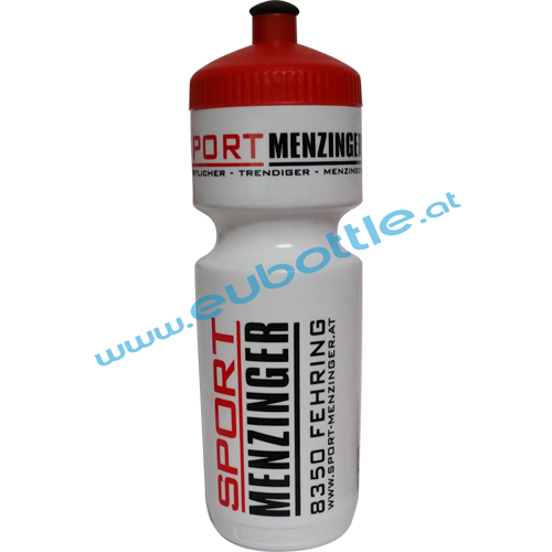 EU Bottle BigMouth 750ml white - Sport Menzinger