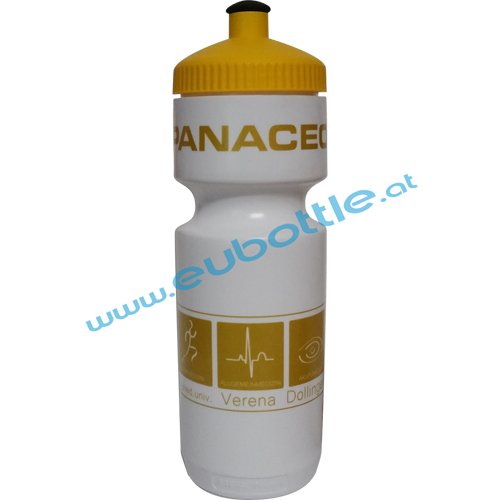EU Bottle BigMouth 750ml white - Panaceo