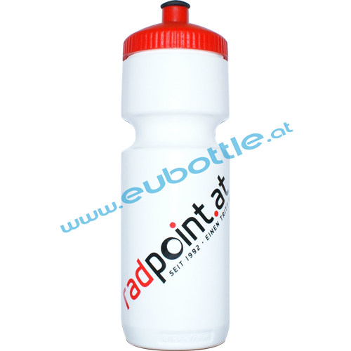 EU Bottle BigMouth 750ml white - Radpoint