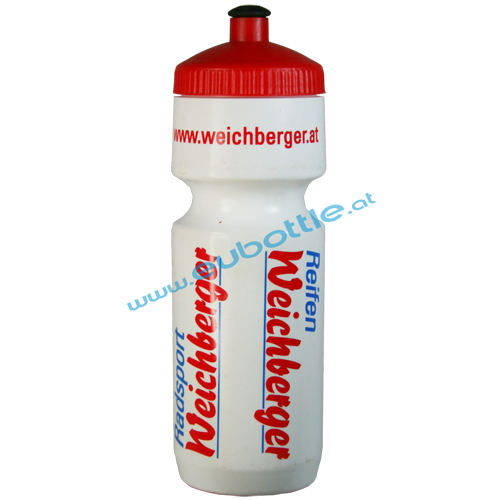 EU Bottle BigMouth 750ml white - Weichberger