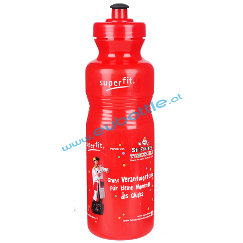 EU Bottle Classic 800ml red - Superfit