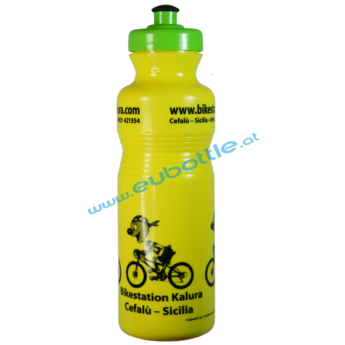 EU Bottle Classic 800ml yellow - Bikestation Kalura