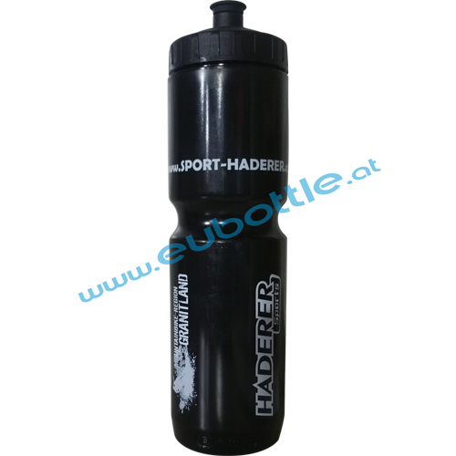 EU Bottle MAX 1000ml black - Sport Haderer
