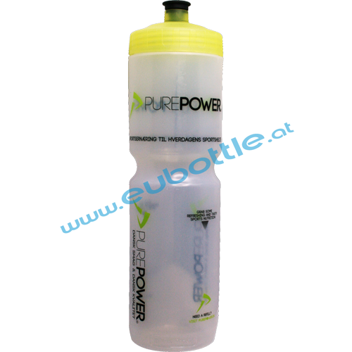 EU Bottle MAX 1000ml clear - Purepower