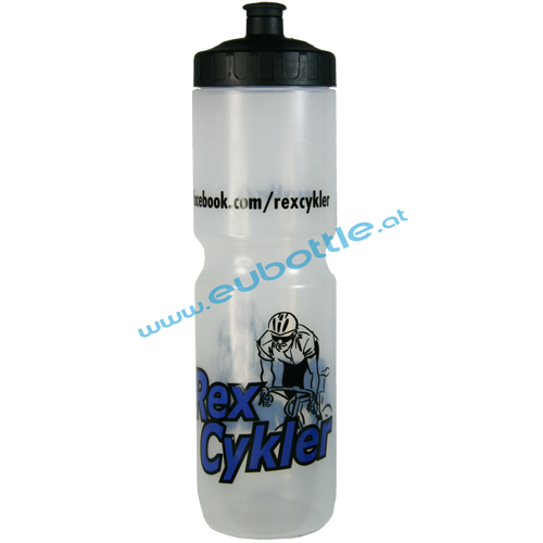 EU Bottle MAX 1000ml clear - Rex Cykler