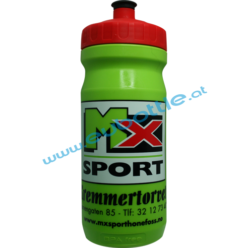 EU Bottle MAX 600ml green - MX Sport