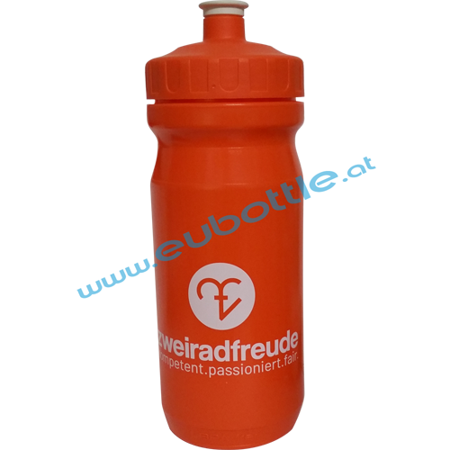 EU Bottle MAX 600ml orange - Zweiradfreunde