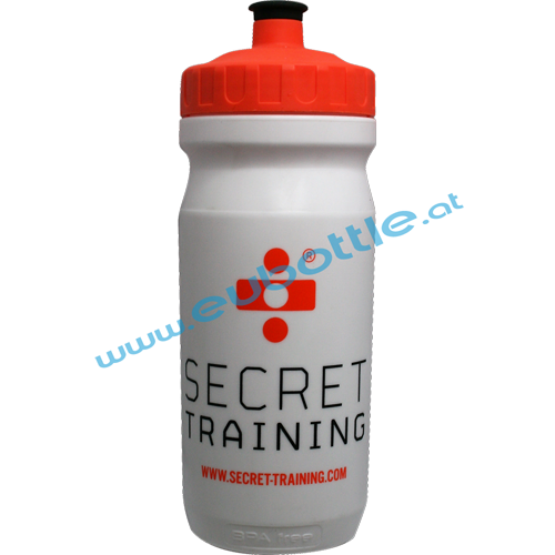 EU Bottle MAX 600ml white - Secret Training