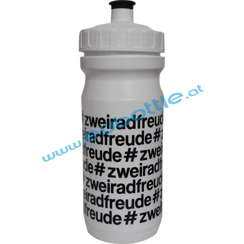 EU Bottle MAX 600ml white - Zweiradfreunde