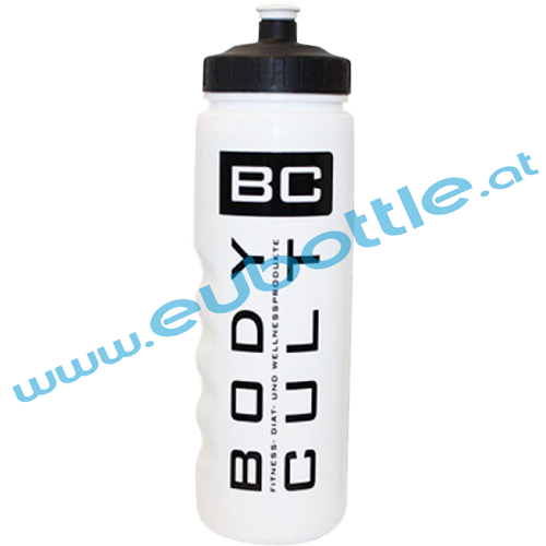 EU Bottle MAX-Sport 1000ml white - Body Cult