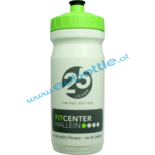 EU Bottle MAX 600ml white - FitCenter Hallein