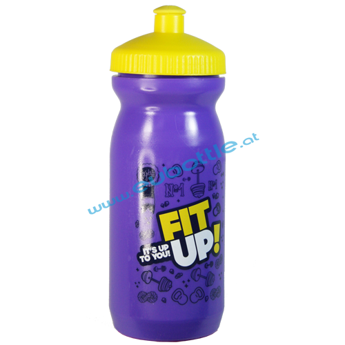 EU Bottle BigMouth 600ml blue - FitUp