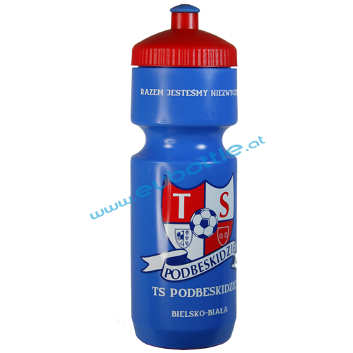 EU Bottle BigMouth 750ml blue - Podbeskidzie