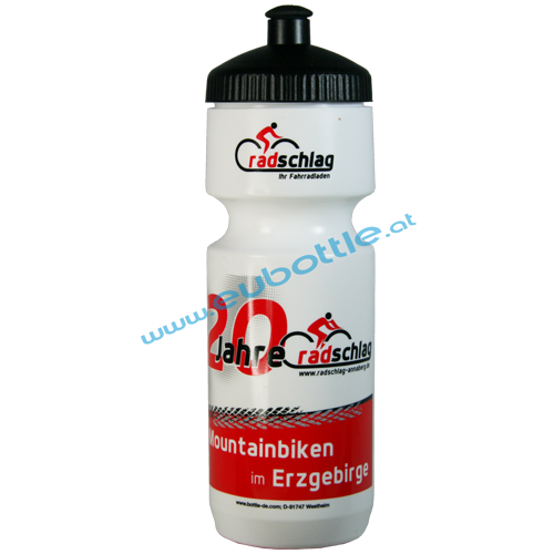 EU Bottle BigMouth 750ml white - Radschlag