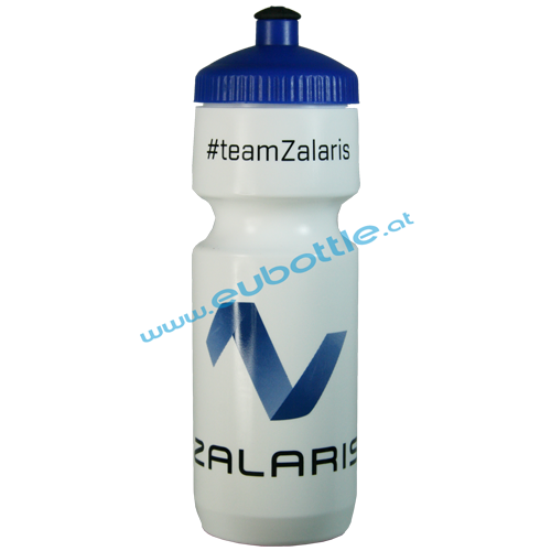 EU Bottle BigMouth 750ml white - Zalaris